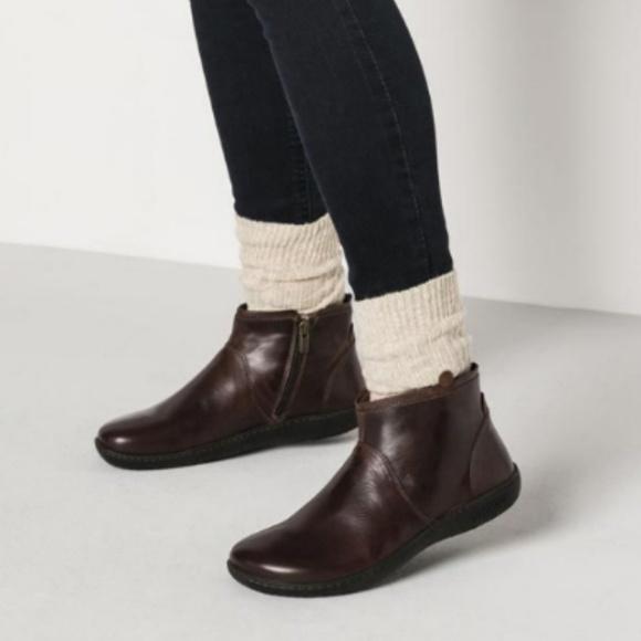 Birkenstock Bennington Brown Leather